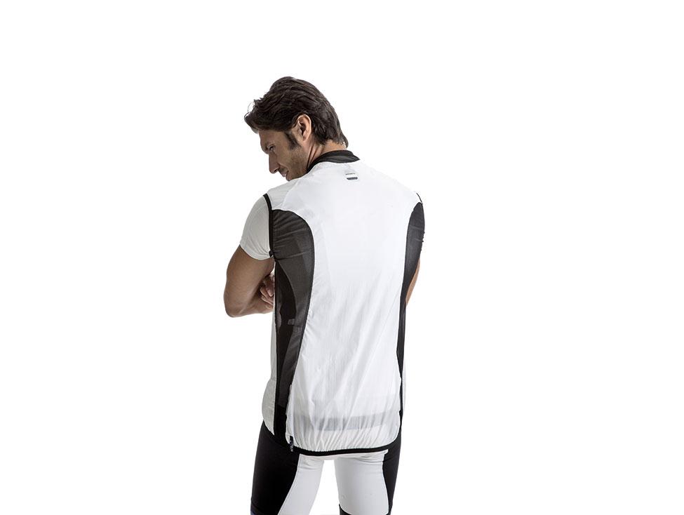 Windbreaker Vest white