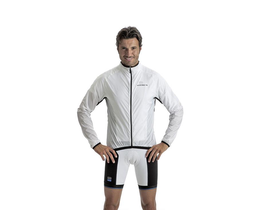 Windbreaker Jacket white