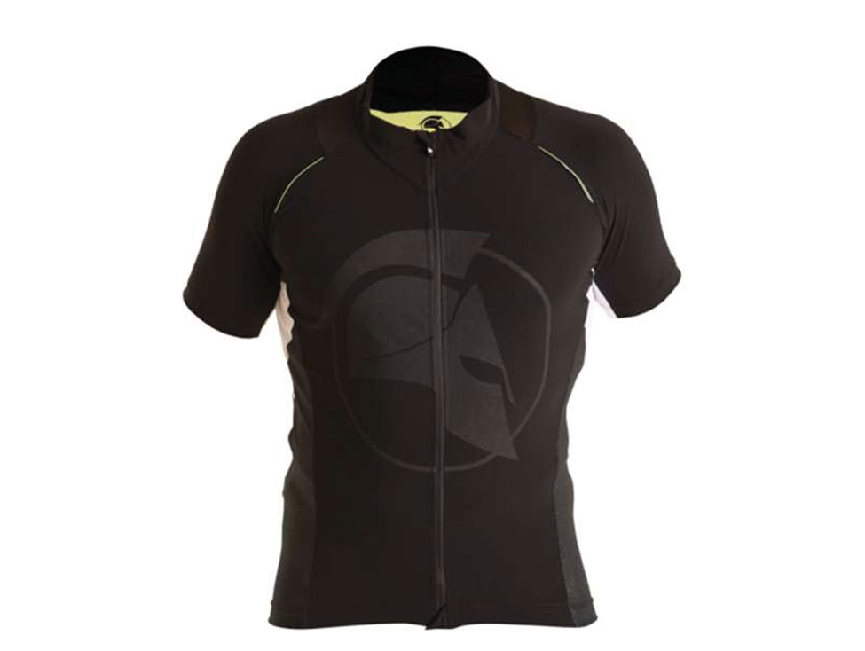 E Cycle Jersey black RF