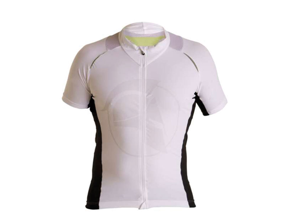 E Cycle Jersey white RF