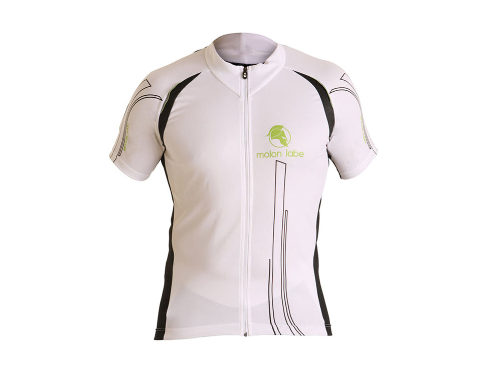 E Cycle Jersey white