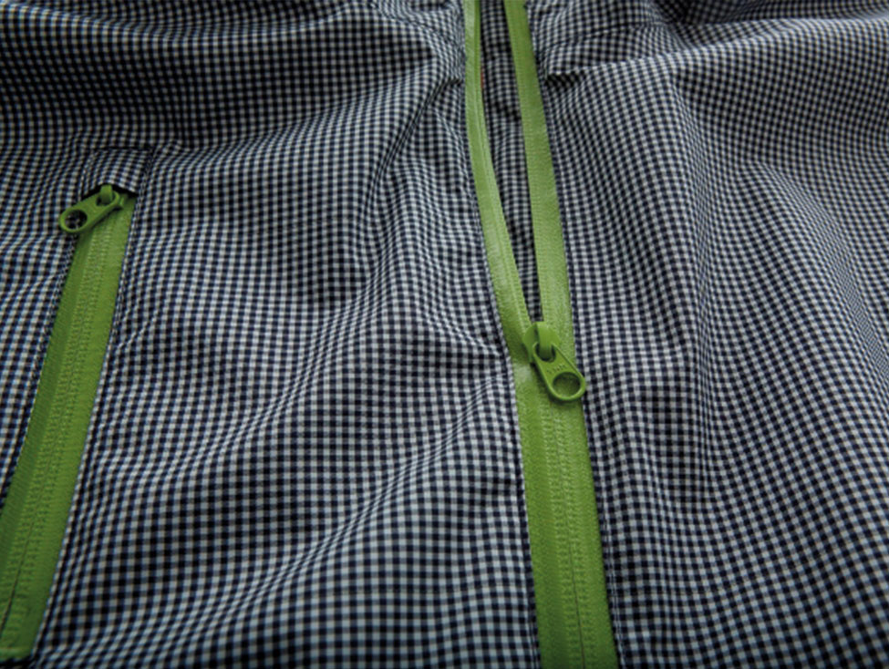 Cleverhood Electric Gingham XS green