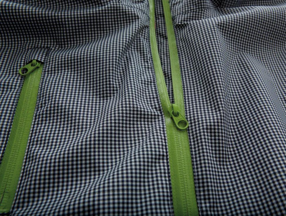Cleverhood Electric Gingham XS green