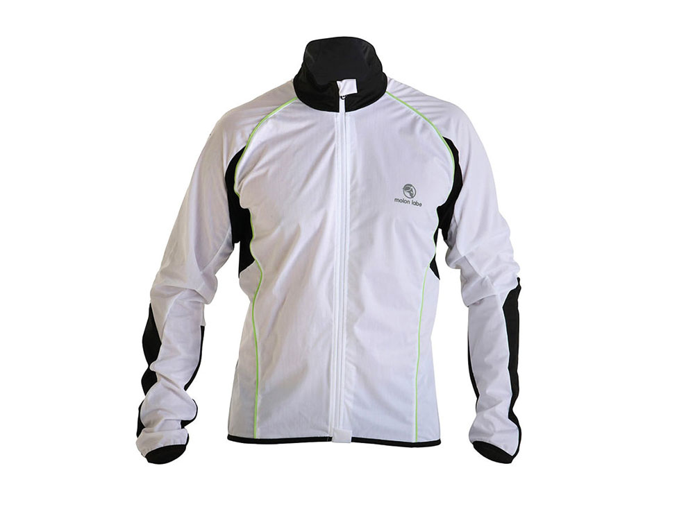 E Cycle Jersey Windstopper Jersey Jacket white