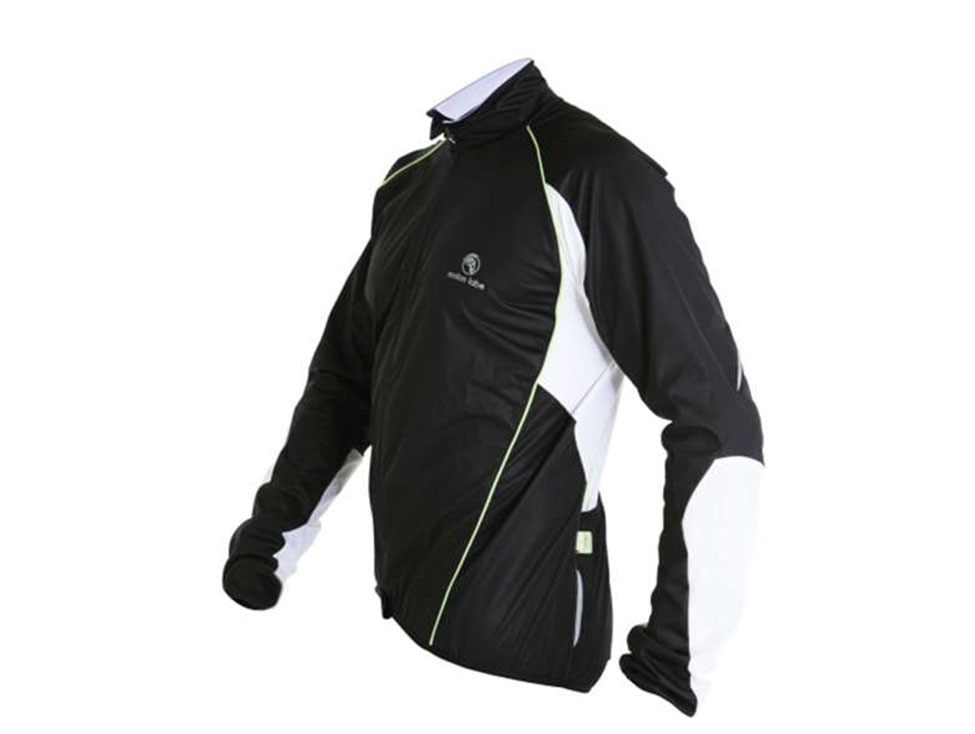 E Cycle Jersey Windstopper Jersey Jacket black