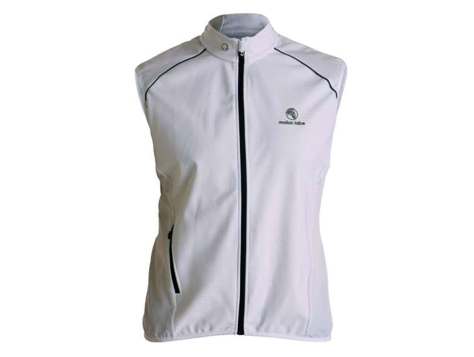 E Cycle Windstopper Vest white
