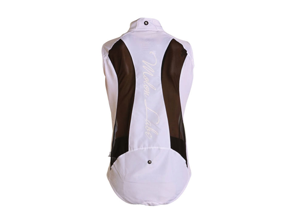 Womens E Cycle Windstopper Vest white