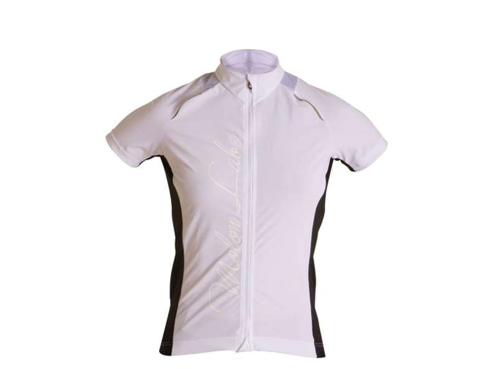 Womens Cycle Jersey white