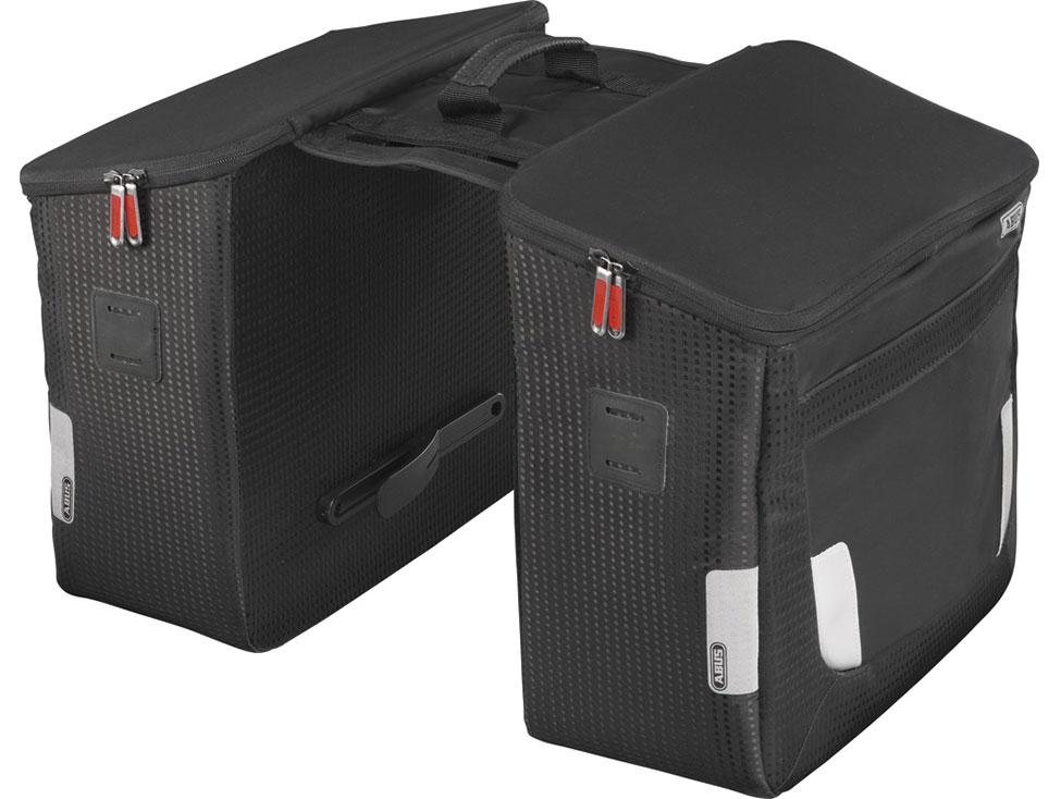 Abus Gepäckträgerdoppeltasche Oryde ST 2550 KF