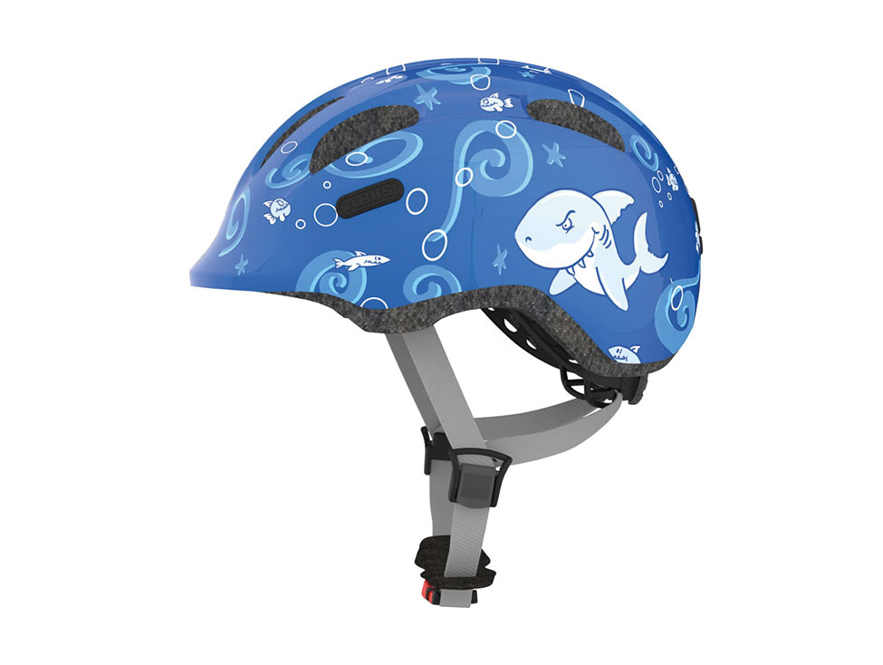Abus Kinderhelm SMILEY Blue Sharky