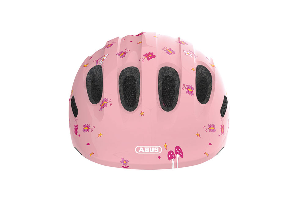 Abus Kinderhelm SMILEY Rose Princess