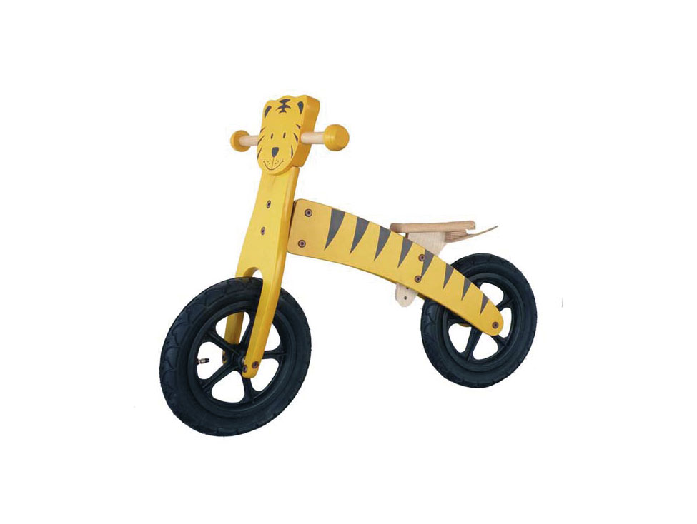 Kinderholzrad Tiger