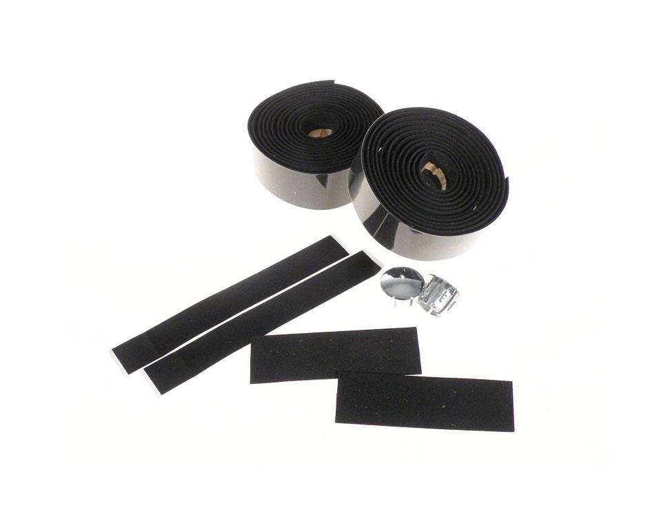 Velo Lenkerband Kork 3x200cm schwarz (Paar)