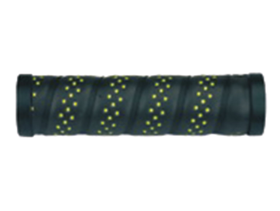 Propalm Griffe Lock-on PU 130mm schwarz/grün