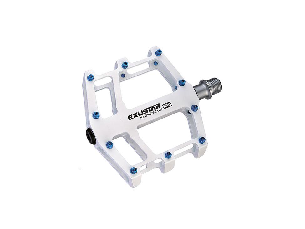 Exustar Pedale BMX E-PB525MG Magnesium weiss