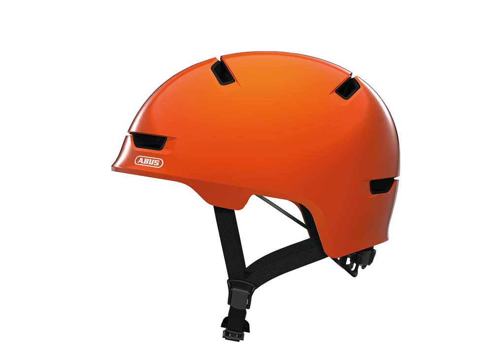 Abus Kinderhelm Scraper Kid 3.0 orange