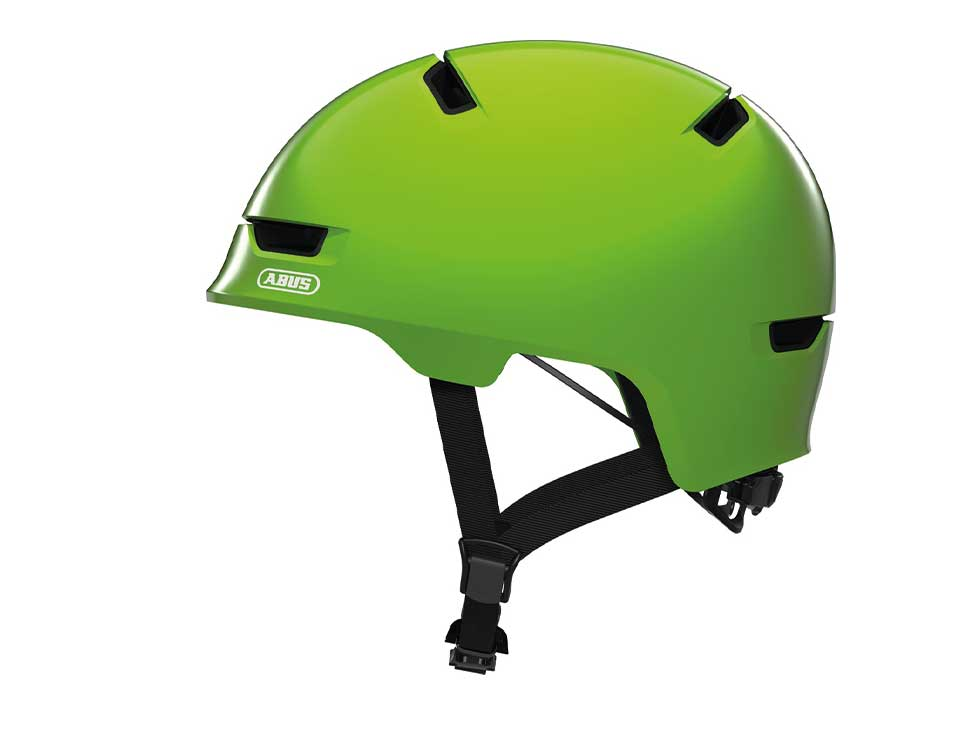 Abus Kinderhelm Scraper Kid 3.0 green