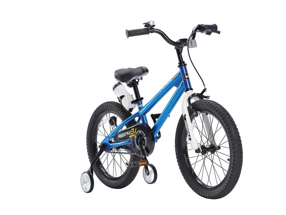 Kinderlaufrad 16″ Freestyle blau