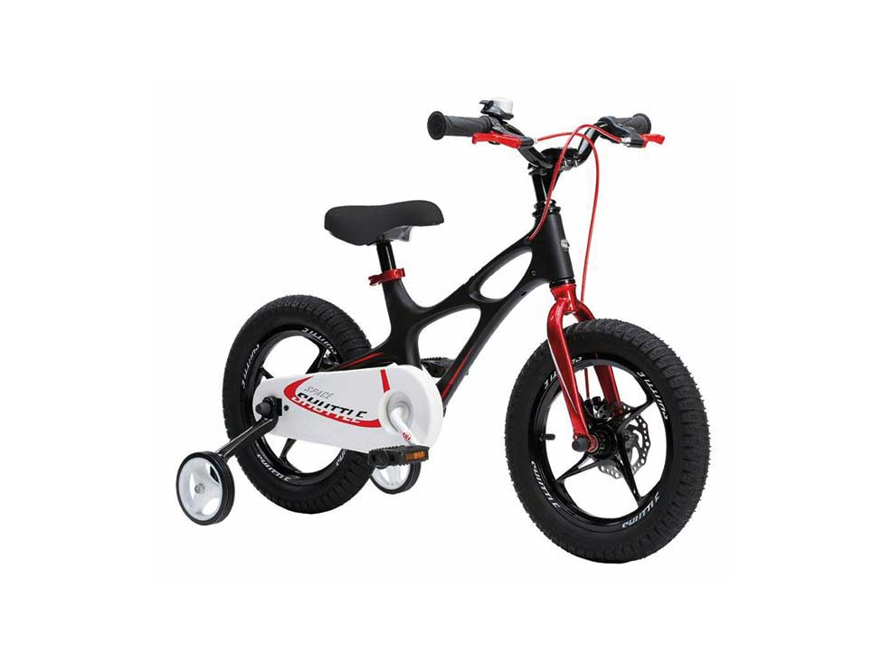 Kinderlaufrad 16″ schwarz MTB space shuttle